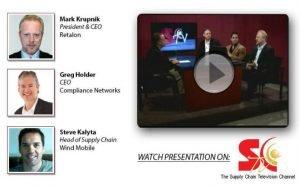 Mark Krupnik Retalon Supply Chain TV