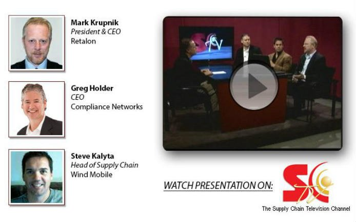 Mark Krupnik Retalon Supply Chain TV