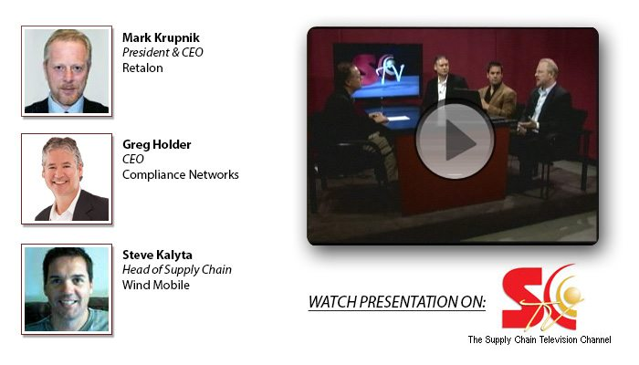 Watch Retalon CEO speak on Supply Chain TV