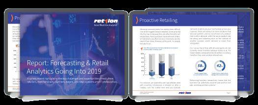 Retail forecasting predictive analytics report