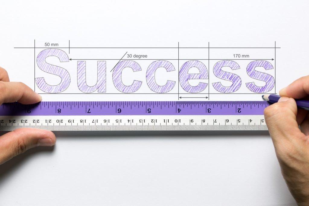 A ruler measuring retail KPI success