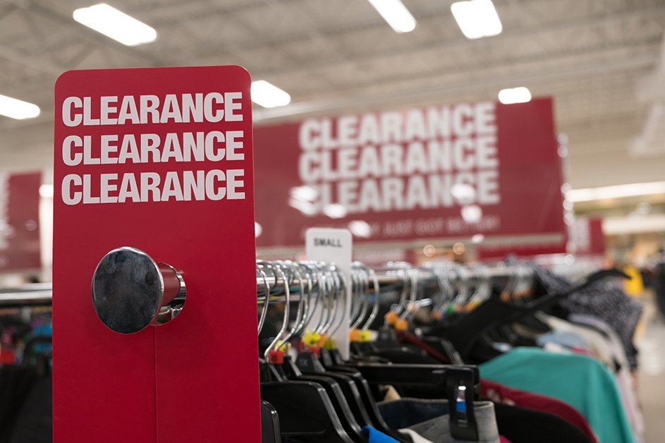 Reduce inventory to prevent excessive markdowns