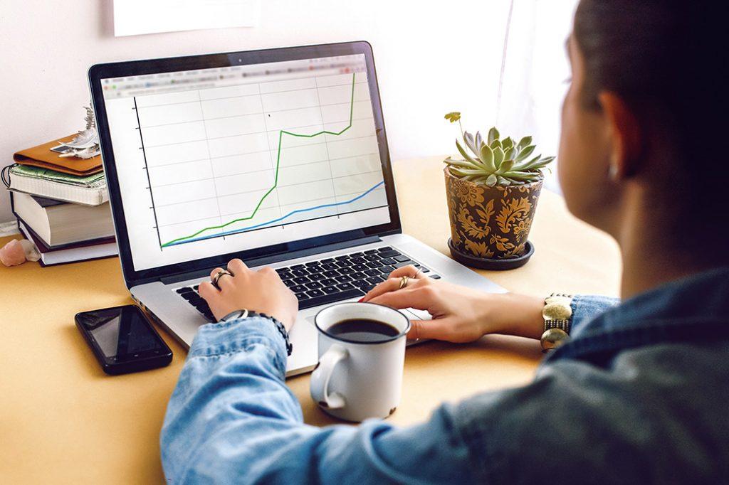 Retailer assessing their assortment planning process using graphs.