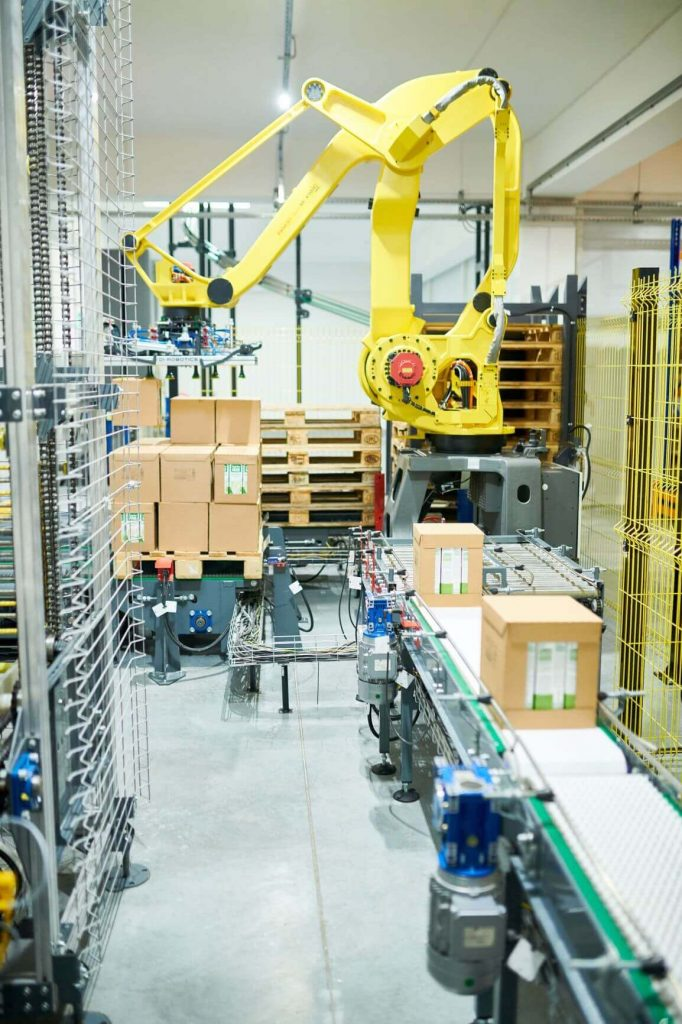 Autonomous mobile robots contribute to the retail digital transformation through order fulfillment automation.